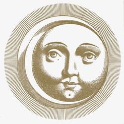 Soli e Lune Oro 5B | Wandfliesen | Ceramica Bardelli