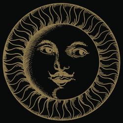 Soli e lune Oro 3N | Wandfliesen | Ceramica Bardelli