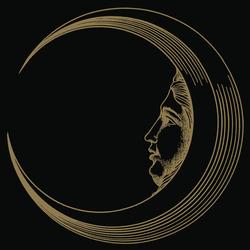 Soli e lune Oro 6N | Wandfliesen | Ceramica Bardelli