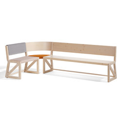 Stijl cornerbench | Benches | Richard Lampert