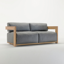 Claud Sofa | Garden sofas | Meridiani