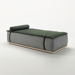 Claud Day Bed | Seating islands | Meridiani