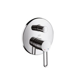 AXOR Uno Single Lever Bath Mixer for concealed installation with integrated security combination | Bath taps | AXOR