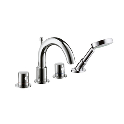 AXOR Uno 4-Hole Tile Mounted Bath Mixer DN15 | Bath taps | AXOR