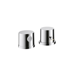 AXOR Uno 2-Hole Thermostatic Rim-Mounted Bath Mixer DN15 | Bath taps | AXOR