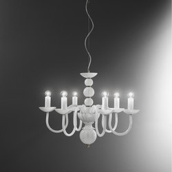Evoque | Ceiling suspended chandeliers | ITALAMP
