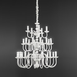 Evoque | Ceiling suspended chandeliers | ITALAMP
