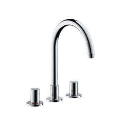 AXOR Uno 3-Hole Basin Mixer DN15 | Wash basin taps | AXOR
