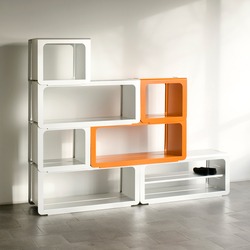 Stack Shelvesystem | Systèmes d'étagères | Lehni