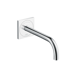 AXOR Uno Electronic Basin Mixer for concealed installation with spout 225 mm | Wash basin taps | AXOR