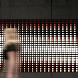 LivingShapes interactive wall | OLED lights | Philips Lumiblade - OLED