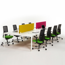 Alku eight seats | Desking systems | Martela Oyj