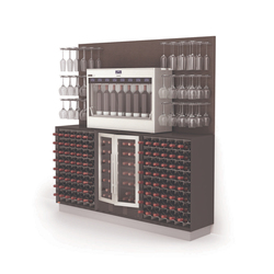 Esigo WSS2 Wine Rack Cabinet | Wine racks | ESIGO