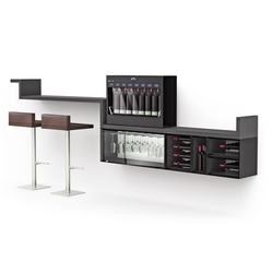 Esigo WSS10 Wine Rack Cabinet | Cabinets | ESIGO