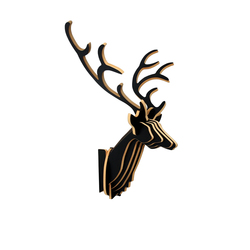Deer | Decoración de pared | STECKWERK