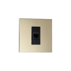 Paris LM laiton miroir | USB power sockets | Luxonov