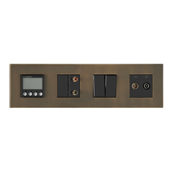 Paris BM bronze moyen | Heating / Air-conditioning controls | Luxonov