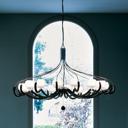 On-Off Hanging Lamp | Ceiling suspended chandeliers | ITALAMP