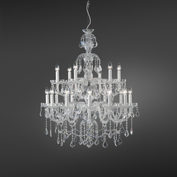Romantic Hanging Lamp | Ceiling suspended chandeliers | ITALAMP