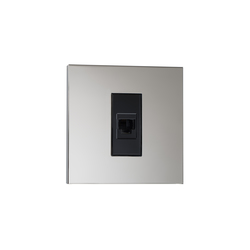 Paris NM nickel miroir | USB power sockets | Luxonov
