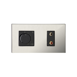 Paris CH chrome miroir | Sound / Multimedia controls | Luxonov