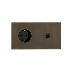 Siam BM bronze moyen | Schuko sockets | Luxonov