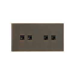 Siam BM bronze moyen | USB power sockets | Luxonov