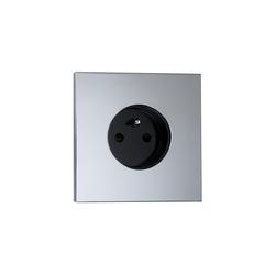 Siam CH chrome miroir | Schuko sockets | Luxonov