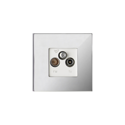 Siam CH chrome miroir | Multimedia ports | Luxonov