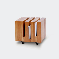 Basic Coffeetable Cubo | Magazine holders / racks | Artisan