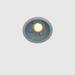 Mini Up Circular ceiling/wall with matt glass | Spotlights | Kreon