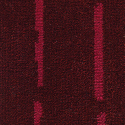 Pinestripe Burgundy-Pink 16 | Carpet rolls / Wall-to-wall carpets | Kasthall