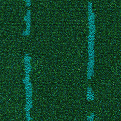 Pinestripe Green-Turquoise 32 | Carpet rolls / Wall-to-wall carpets | Kasthall