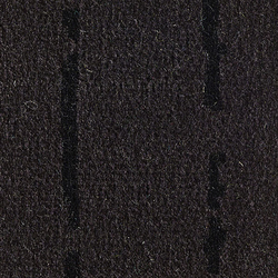 Pinestripe Black-Black 55 | Carpet rolls / Wall-to-wall carpets | Kasthall