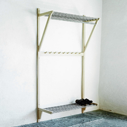 Steel coat rack | Guardaroba a muro | Olby Design