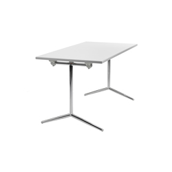 Quickly T-leg | Tables polyvalentes | Lammhults