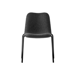 Boum Black Chair | Restaurant chairs | Kristalia