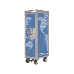 bordbar Pan Am edition worldmap solid | Chariots / Tables de service | bordbar