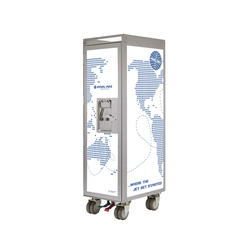 bordbar Pan Am edition worldmap | Chariots / Tables de service | bordbar