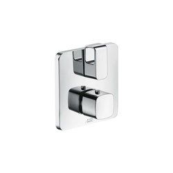 AXOR Urquiola Thermostat for concealed installation with shut-off valve | Bath taps | AXOR