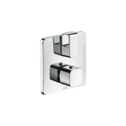 AXOR Urquiola Thermostat for concealed installation with shut-off|diverter valve | Bath taps | AXOR