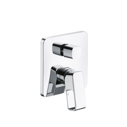 AXOR Urquiola Single Lever Bath Mixer for concealed installation with integrated security combination according to EN1717 | Robinetterie pour baignoire | AXOR