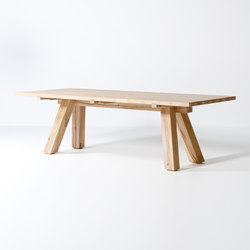 Lens dining table | Esstische | Van Rossum