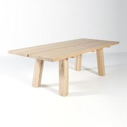 Woud dining table | Mesas comedor | Van Rossum