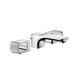 AXOR Urquiola 3-Hole Basin Mixer DN15 with escutcheons | Wash basin taps | AXOR