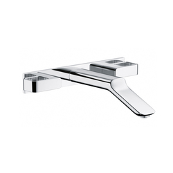 AXOR Urquiola 3-Hole Basin Mixer DN15 for concealed installation with spout 228mm | Wash basin taps | AXOR