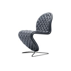 System 1-2-3 | Dining Chair Butterfly | Visitors chairs / Side chairs | Verpan