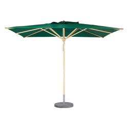 Basic Umbrella Square | Parasols | Weishäupl