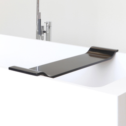 Axis bath tray | Ablagen / Ablagenhalter | Not Only White B.V.