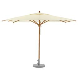 Teak Umbrella 300 x 300 | Ombrelloni | Weishäupl